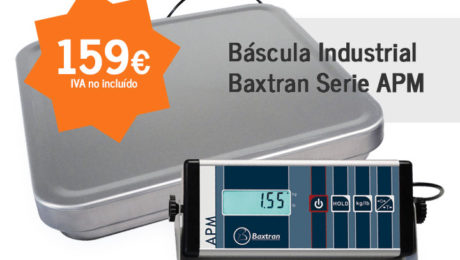 bascula industrial baxtran serie apm - mercabalanza, todo para tu negocio en valencia