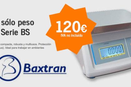 Balanza sólo peso Baxtran Serie BS - mercabalanza, todo para tu negocio en valencia